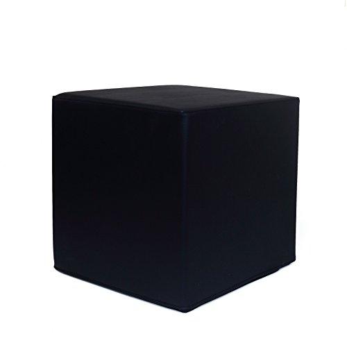 Cubo puf 40x 40x 40para alivio de la zona lumbar.Fitness, aerobic, crossFit.Uso profesional o doméstico - de alta densidad 30kg/m3 en su totalidad.Lavable, higiénico.