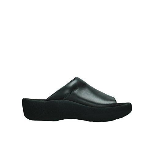 Wolky Comfort Nassau - 30000 schwarz Leder - 39