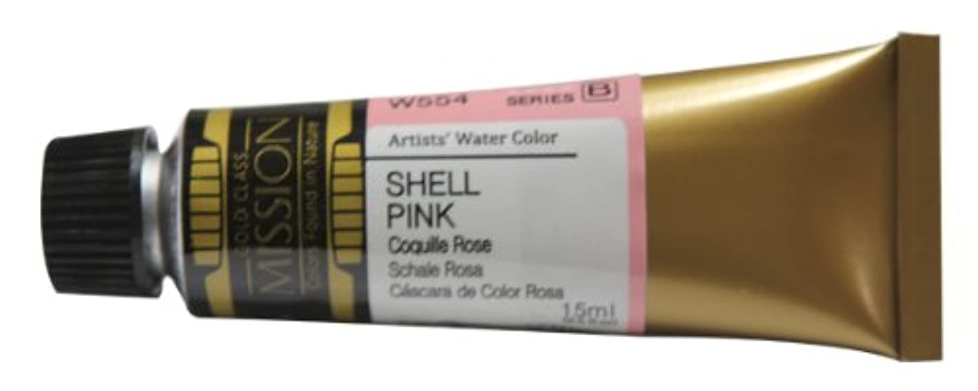 Mission Gold Water Color, 15ml, Shell Pink