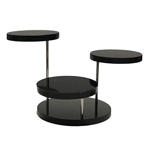 Gujugm Acryl Sieraden Display Stand,3-laags Roterende Circulaire Sieraden Display Stand,Gebruikt voor Oorbellen…