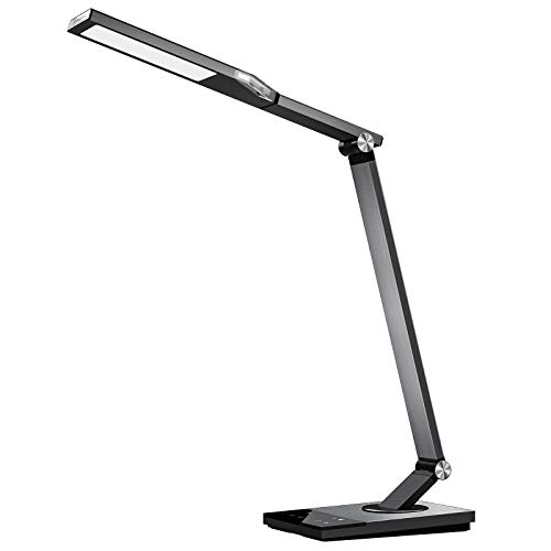 TaoTronics TT-DL16 Stylish Metal LED Desk Lamp, Office Light...