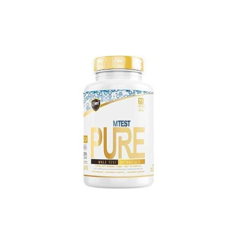MTX nutrition MTEST PURE 60 capsulas – Ffitoextractos PREMIUM para el hombre de efecto potenciador del entorno hormonal que incrementa (natural) los niveles de testosterona y de IGF-1.