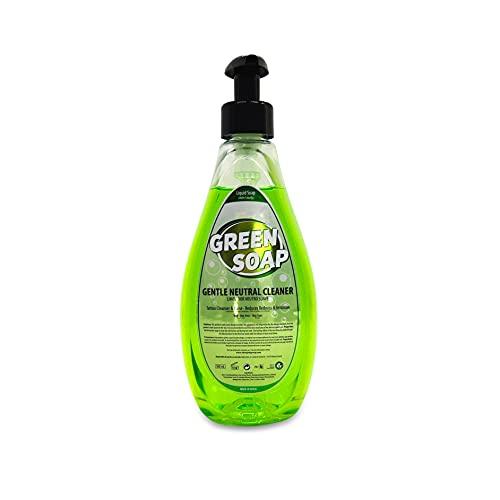Leichte neutrale Seife (500 ml) Microblading Tattoo Micro Tattoo, neutrale Seife zur Pflege, Hydratation und Heilung von Tätowierungen (Green Soap)