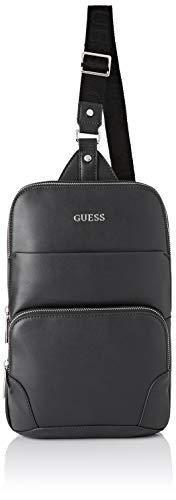 Guess Manhattan, Men's Backpack, Black, 13x35x23 cm (W x H L)