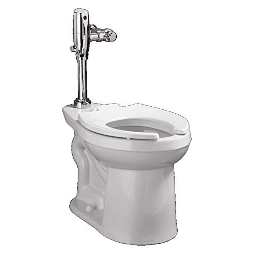 American Standard 3641.001.020 Right Width Right Height Flush Valve Elongated Bowl, White