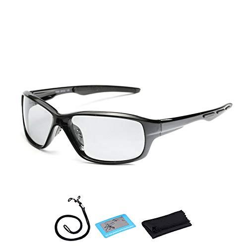 YNuo Polarizada Fotocromáticas Gafas Ciclismo Hombres Mujeres Carretera de montaña Bicicleta de Las Gafas de Sol UV400 Eyewear de la Bicicleta Deporte Montar Gafas