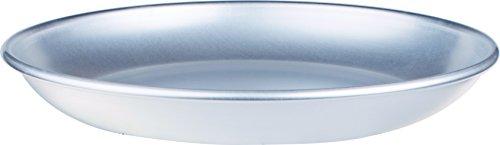 Pentole Agnelli ALMA15836 Linea Alluminio 3mm Vassoio al Frutti di Mare, 36 cm, Acciaio, Argento