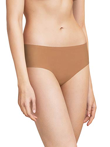 Chantelle Womens Soft Stretch Boxer Briefs, Santal, One Size