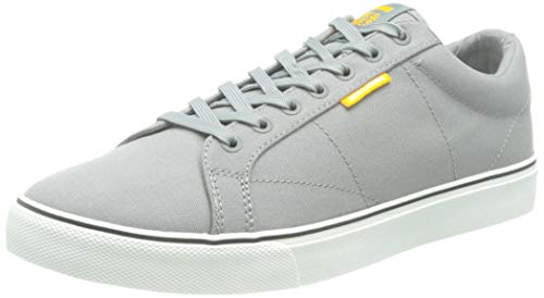 JACK & JONES JFWCARTER Canvas Frost Grey, Zapatillas Hombre, Gris congelado, 45 EU