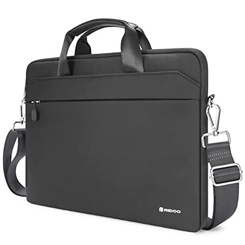NIDOO 13-14 Zoll Laptop Aktentasche Handtasche Schulter Notebook Tasche Hülle für 13