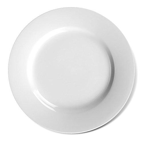 Teller flach 30 cm weiß von Holst Porzellan / Vital Level Plus / Platzteller / Teller / Speiseteller / Holst Porzellan