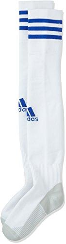 adidas Adi Sock 18 Calcetines, Unisex Adulto, White/Bold Blue, 4345
