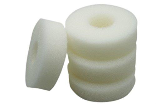 LTWHOME Compatible Foam Sponge Filter Media Fits Laguna Pressure-Flo 1400 UVC Filter(Pack of 4)