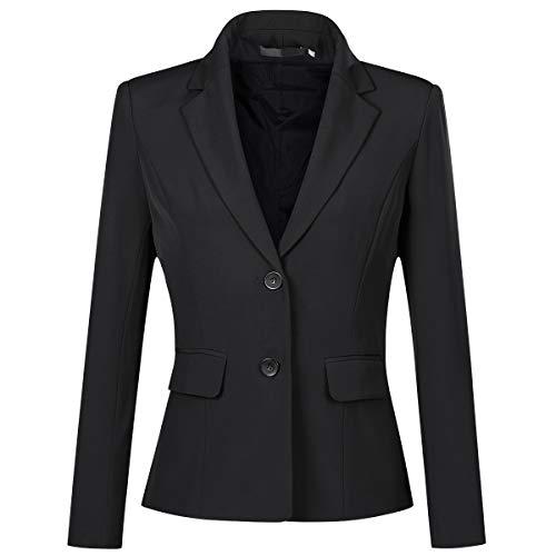 YYNUDA Blazer Damen Sommer Anzugjacke Business Slim Fit Top Elegant für Business Office