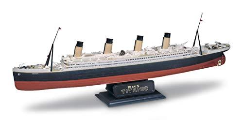 Revell 10445 RMS Titanic detailgetreuer Modellbausatz, Schiffsbausatz 1:570