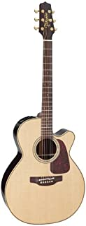 Takamine Pro Series 5 P5NC NEX Body Acoustic Electric Guitar with Case, Natural