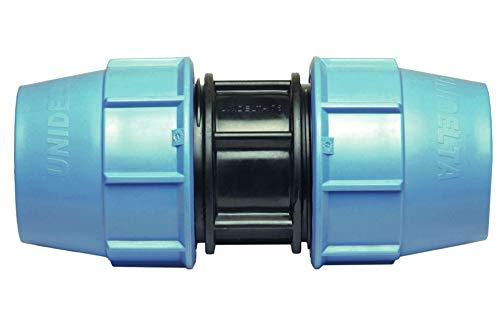 BFG MDPE PE PE 40 mm x 40 mm Buchse gerade Kupplung MUFF Wasserrohr Kunststoff Adapter