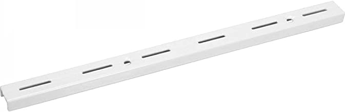 Trilho branco 1 metro sem suporte prateleira - Vonder