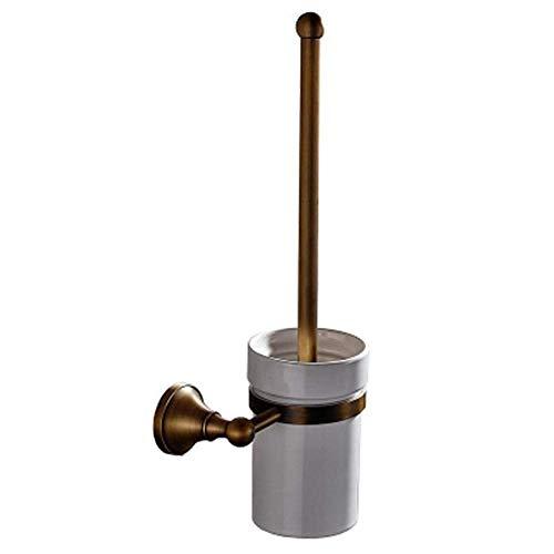 Easy Clean Head - Escobilla - baño de Cobre Pendiente - Pared Cepillado montado Cepillo de baño de la gotita de Asiento de Inodoro Huangwei7210