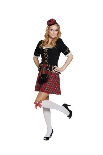 Rubbies - Disfraz de escoces para mujer, talla 38 (1 3611 38)