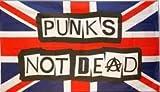 FRIP Punks not Dead auf UK Fahne Flagge 1,50x0,90m