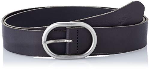 Levi's Circle Buckle Core, Cinturón Mujer, Negro (Black), 80 cm (Talla del fabricante: 80)