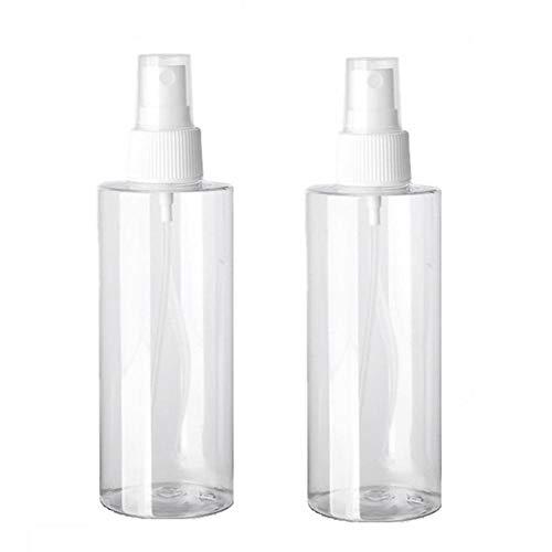 Flacon vaporisateur de 80 ml en plastique vide - Vaporisateur de parfum portable - Bouteille fine pour les voyages, les voyages ou les sports de plein air.