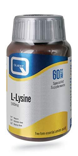 Quest L-lysine 500mg - 60 Tablets