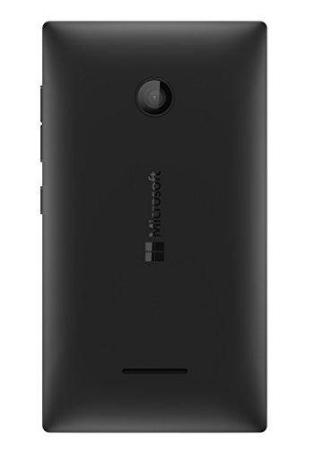 BrewingQ Housing Back Body Cover for Microsoft Lumia 435 - Black