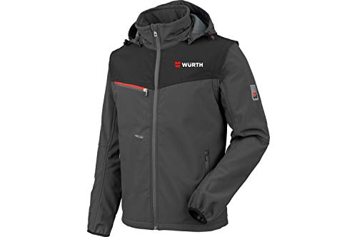 WÜRTH MODYF Softshelljacke Stretch X anthrazit Jacke aus der German Design Award Winner Kollektion 2020.