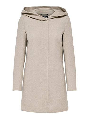 Only Onlsedona Light Coat Otw Noos, Giubbotto Donna, Marrone, 34 (Taglia Produttore: X-Small)
