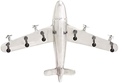 Modern Décor Aluminum Plane Wall Hook 25