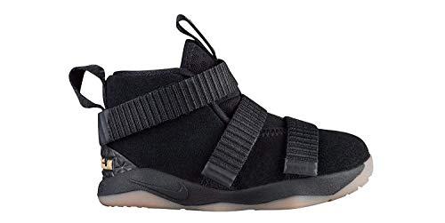 Nike NIKE918367-007 Lebron Soldier 11 Xi, Säugling, Kleinkind, Schwarze Sohle, 918367-007 Baby Jungen, Schwarz (Black Gum), 22 M EU