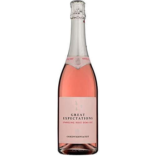 Vinho Espumante Rose Demi Sec, Great Expectations Shiraz, Salmão Brilhante, 750 ml