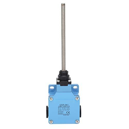 250 V Interruptor de límite CSA-081, microinterruptor de posición de límite de auto-reinicio a prueba de agua, utilizado para transportar maquinaria, equipo de máquina herramienta, automatización