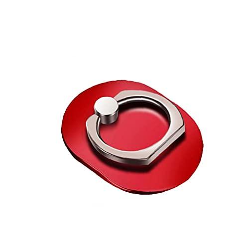 nJiaMe Teléfono Celular Anillo del sostenedor Diseño Oval del Anillo de Agarre con los Dedos de teléfono Soporte para teléfono rotación de 360 ??Grados Rip Montaje Universal para la Tableta de