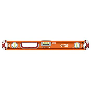 Swanson Tool Co Inc SVB24M 24-Inch Savage Magnetic Professional Box Beam Level with Gel End Cap