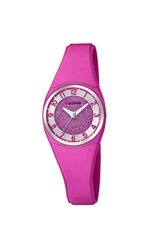 Calypso Watches Reloj Analógico para Mujer de Cuarzo con Correa en Plástico K5752/5