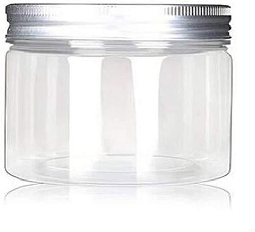 Wangshengchao Set di 6 vasetti da 120 ml Contenitori Cosmetici per Animali Domestici in Alluminio Scatola per lozione Crema Argento Unguenti Bottiglia Bottiglia per Alimenti Vaso per Il Trucco