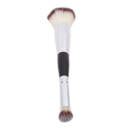 VWH Doppel-Kopf Foundation Pinsel Puder Lidschatten Rouge Pinsel Gesicht Make-up-Tool