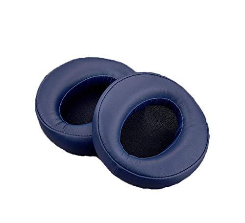 Protein lederen oorkussens geschikt voor Snmdr-Xb950Btxb950B1 oortelefoon mouw lederen hoesje oordop spons cover accessoire, Blauw