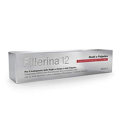 Labo Fillerina 12 - Dispensador de maquillaje para ojos y párpados, grado 5, 15 ml
