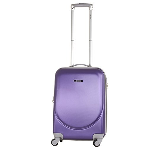CALPAK Silverlake Purple 20-inch Carry-on Lightweight Expandable Hardsided Upright Suitcase