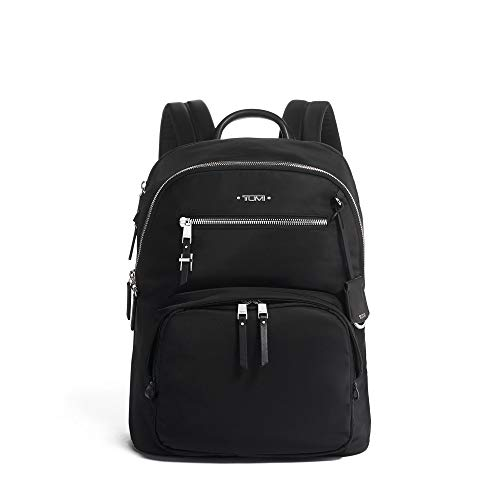 TUMI - Voyageur Hartford Laptop Backpack - 13 Inch Computer Bag For Women - Black/Silver