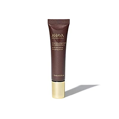 AHAVA Dead Sea Osmoter Eye Concentrate Serum 15 ml Natural Eye Puffiness Reducer Anti Ageing Firming Under Eyes Treatment – Removes Dark Circles, Bags and Signs of Fatigue for Women and Men from AHAVA Cosmetics GmbH