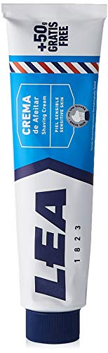 LEA crema de afeitar piel sensible con brocha caja 100 ml
