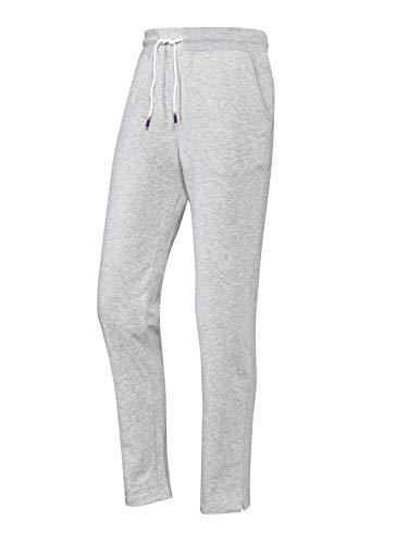 Joy Sportswear Simone Damenfreizeithose Cotton Comfort, langes Modell mit Taschen und bequemen Bund, optimal für Sport und Gymnastik sowie Freizeitaktivitäten Kurzgröße, 23, Smoke Melange
