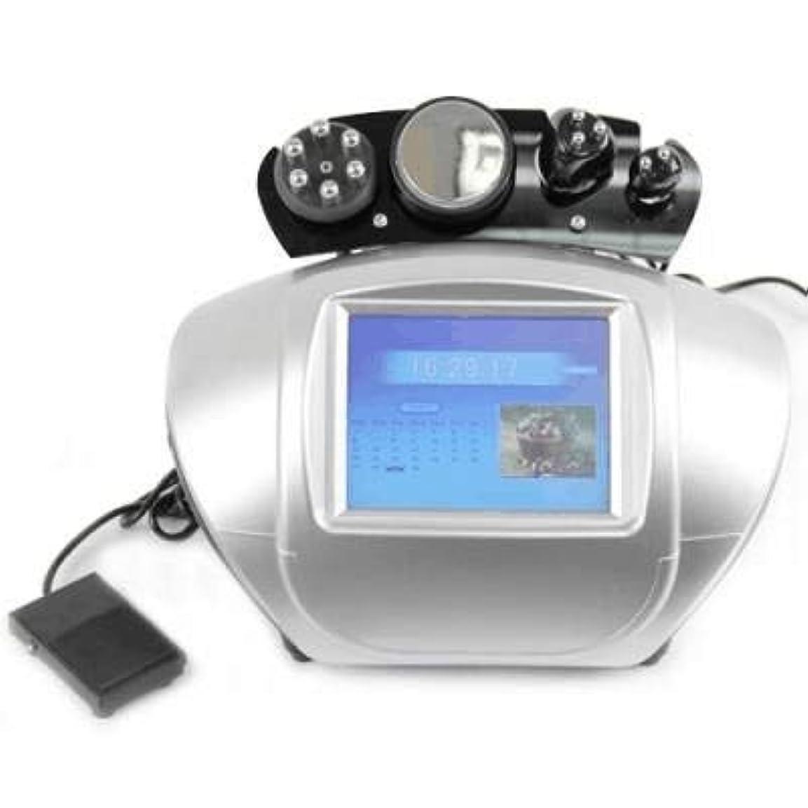 教育する刺す後方にGoodLongエステサロン多極RF ラジオ波 EMS 超音波 キャビテーション 美容複合機 RU+6