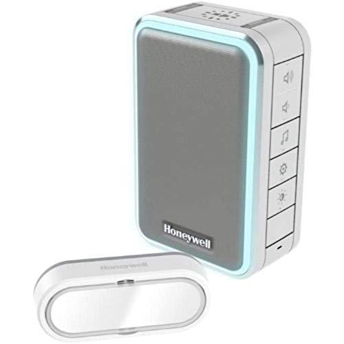 Honeywell Bk-Electronic Funkgong-Steckdosen-Set DC315SP2L 150m 6Ton 84dB ws Gong 5004100967671