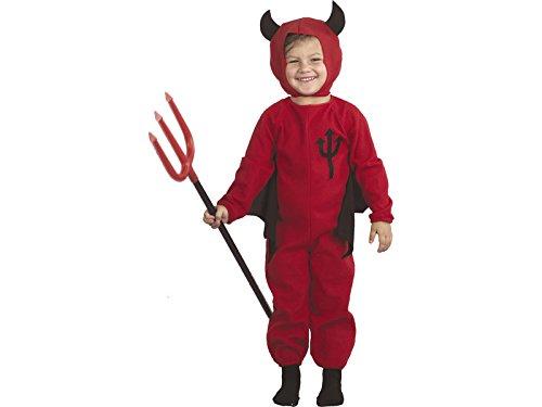 DISONIL Costume Diavoletto Bimbo Dimensione M